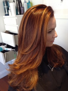 Sun kissed balayage